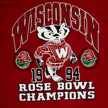 Load image into Gallery viewer, L/XL - Vintage 1994 Wisconsin Badgers Rose Bowl Shirt