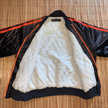 Load image into Gallery viewer, XL - Vintage 1970s AMF Harley Davidson Satin Quilted Jacket