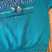 Load image into Gallery viewer, M - Vintage 90s Charlotte Hornets Sweater