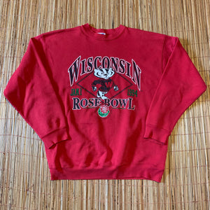 XL - Vintage 1994 Wisconsin Badgers Rose Bowl Sweater