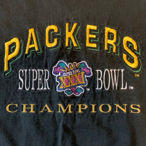 XL - Vintage 1997 Super Bowl XXXI Packers Shirt