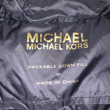 Load image into Gallery viewer, Women's M - Michael Kors Packable Down Fill Jacket