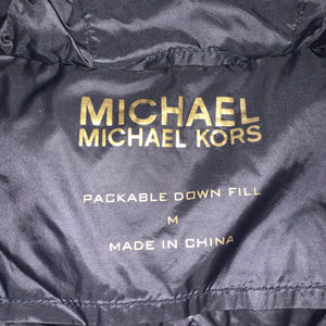 Women's M - Michael Kors Packable Down Fill Jacket