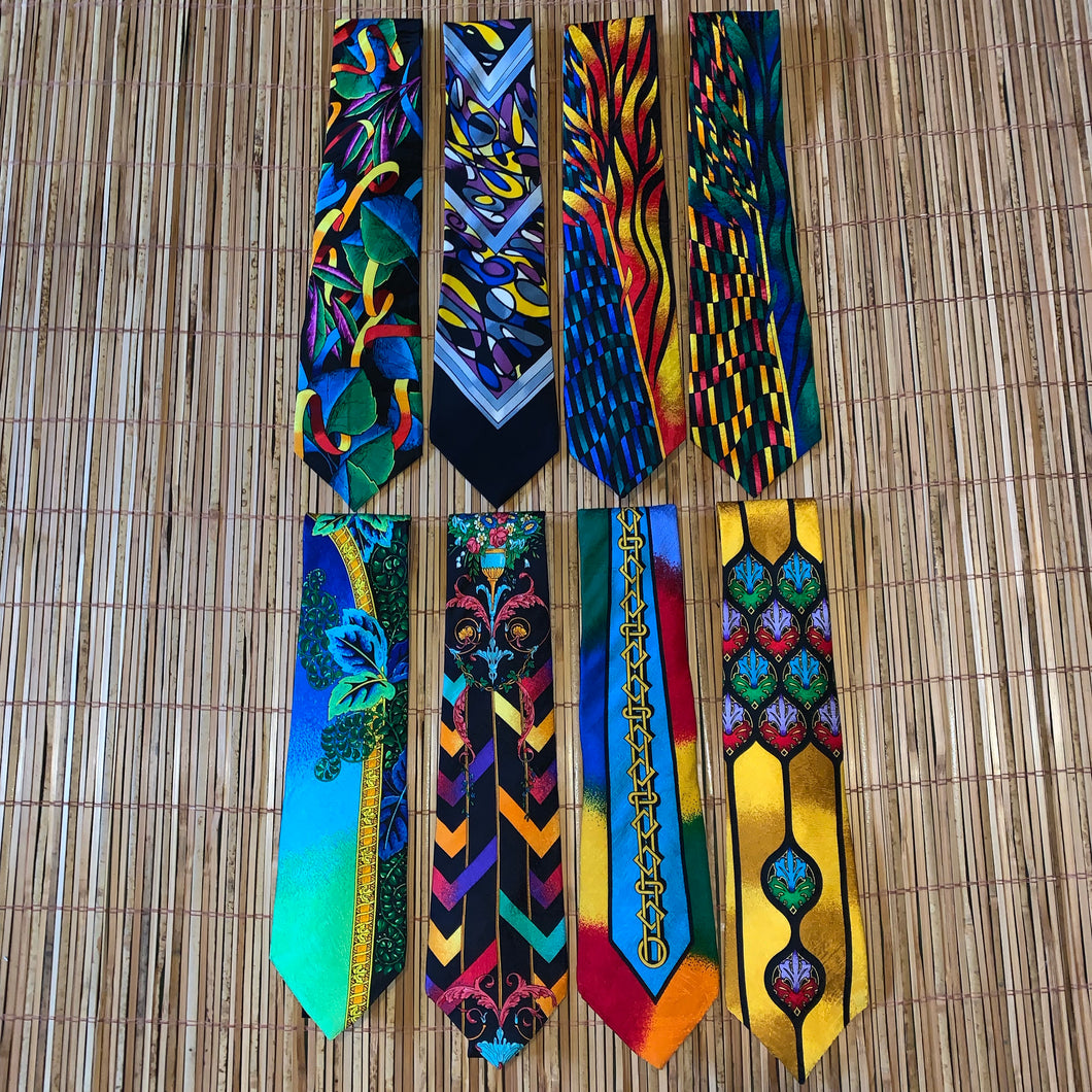 "Vintage Rush Limbaugh ""No Boundaries Collection"" Tie Lot"