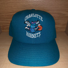 Load image into Gallery viewer, Vintage Charlotte Hornets Fitted Hat