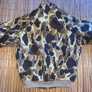 M/L - Vintage Columbia Duck Camo Hunting Reversible Jacket