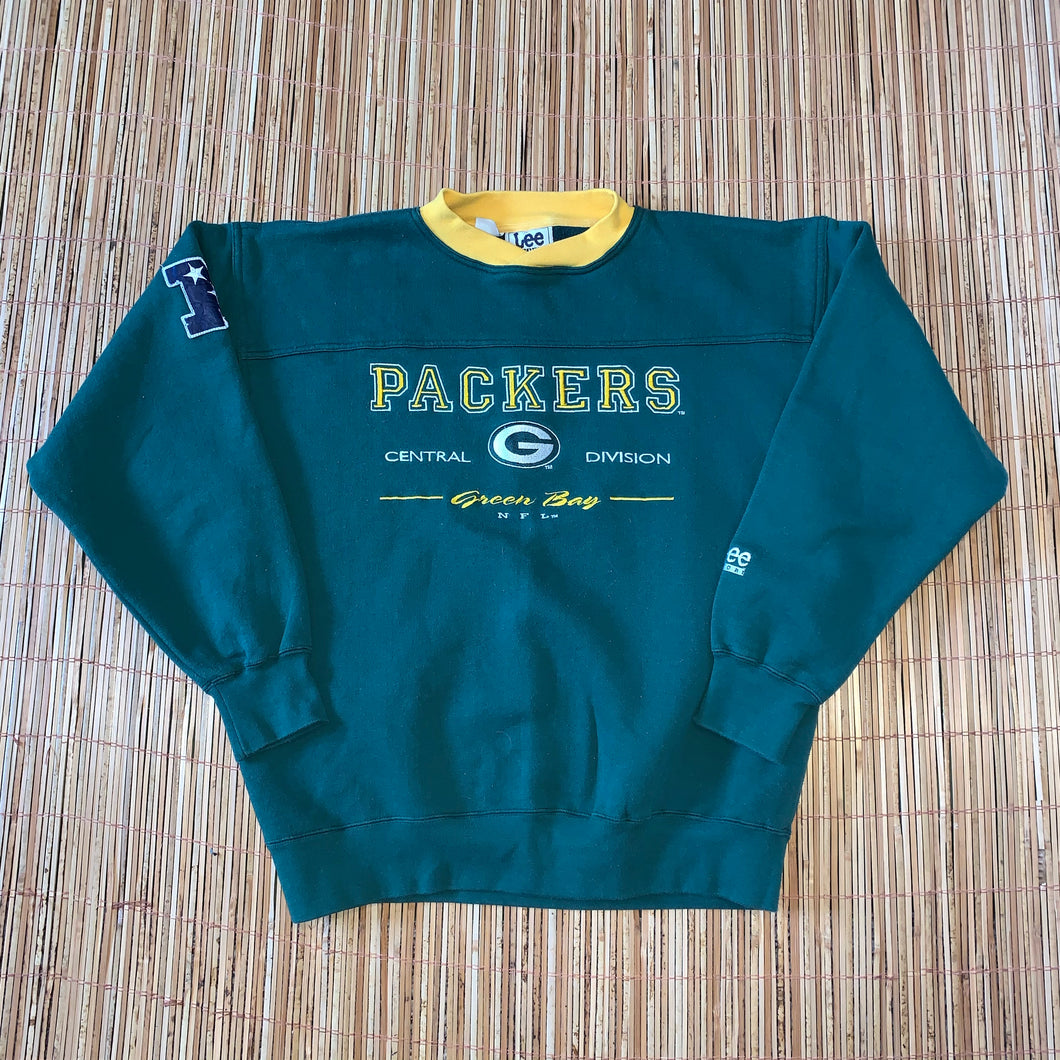 L - Vintage Green Bay Packers Sweater