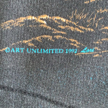 Load image into Gallery viewer, M(See Measurements) - Vintage 1992 All Over Print Eagle Sweater