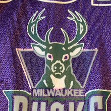 Load image into Gallery viewer, Youth L(Fits Mens M-See Measurements) - Vintage Milwaukee Bucks Jersey