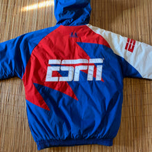 Load image into Gallery viewer, L(See Measurements) - Vintage 90s ESPN Sharktooth Puffer Jacket