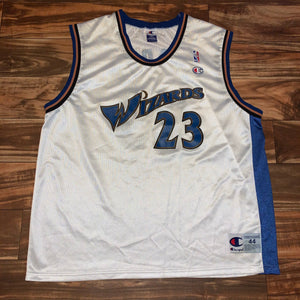 Size 44 - Vintage Washington Wizards Michael Jordan Champion Jersey