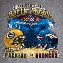 Load image into Gallery viewer, XXL - Vintage Packers Broncos Super Bowl Shirt