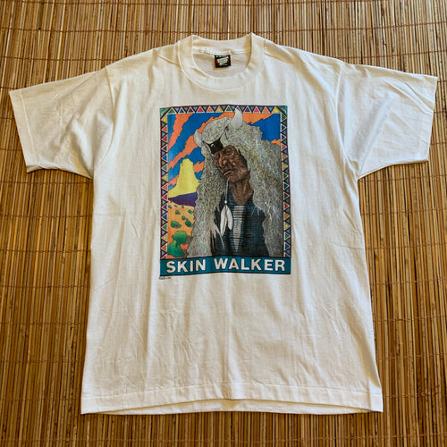 L/XL - Vintage 1988 Native Skin Walker Shirt