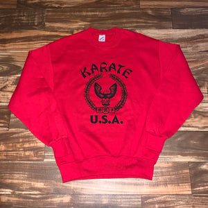 M - Vintage Karate USA Crewneck