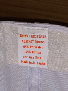 Vintage 1996 Kmart Kids Race Against Drugs Hat
