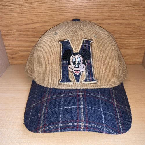 Vintage Mickey Mouse Corduroy Hat