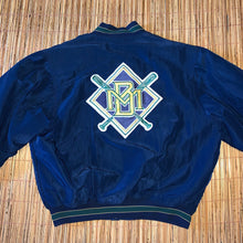 Load image into Gallery viewer, XL - Vintage RARE Brewers Diamond Collection Starter Jacket