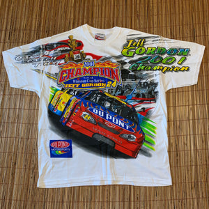 L(Fits BIG XL/XXL-See Measurements) - Jeff Gordon 2-Sided Nascar Shirt