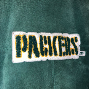 L - Vintage Green Bay Packers RARE Rugby Club Carl Banks Jacket