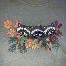 Load image into Gallery viewer, XL/XXL - Vintage Racoon Mock Neck Sweater
