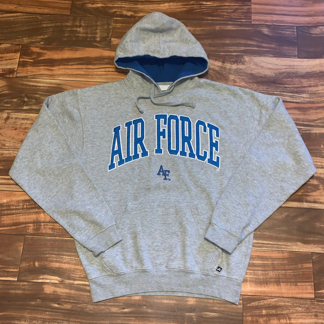 M/L - Air Force Stitched Hoodie
