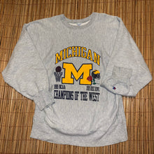 Load image into Gallery viewer, XL - Vintage RARE 1989 Michigan Rose Bowl Sweater