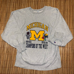 XL - Vintage RARE 1989 Michigan Rose Bowl Sweater