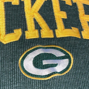 L - Vintage Green Bay Packers Stitched Crewneck