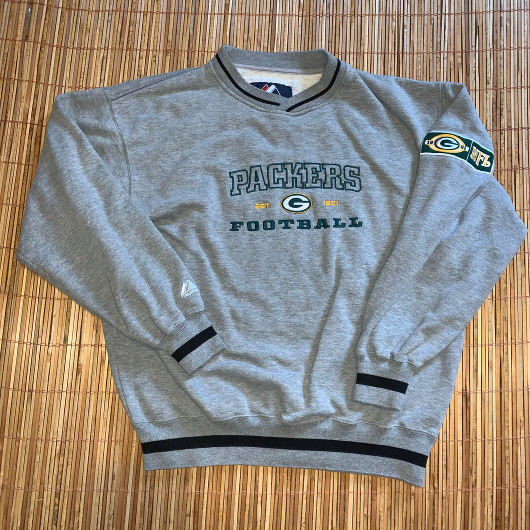 L - Vintage Green Bay Packers Crewneck
