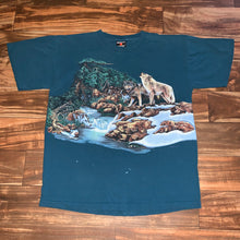 Load image into Gallery viewer, L - Vintage Hidden Wolves Shirt