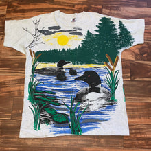 Load image into Gallery viewer, XL - Vintage Loon All Over Print RARE Shirt