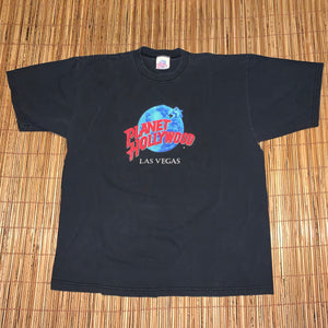 L - Vintage Planet Hollywood Las Vegas Shirt