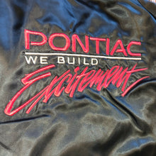 Load image into Gallery viewer, XXL - Vintage Pontiac We Build Excitement RARE Nylon Jacket