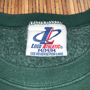 L/XL - Vintage Green Bay Packers Diamond Cut Crewneck