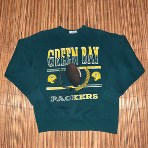M - Vintage Green Bay Packers Sweater