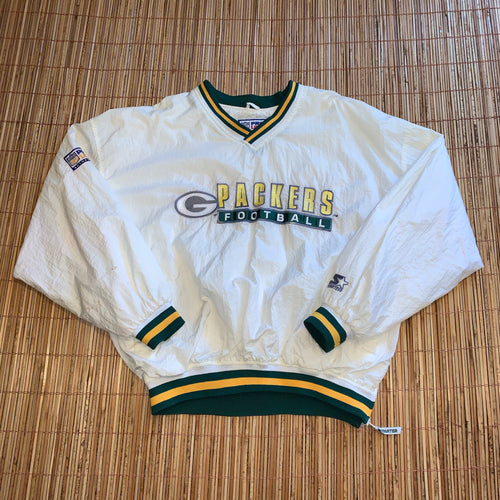 XL/XXL - Vintage Green Bay Packers Starter Windbreaker