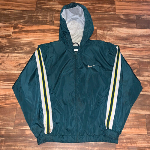 XL - Vintage 90s Lined Nike Jacket