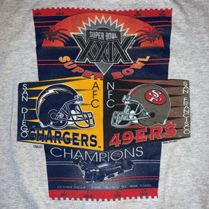 XL - Vintage 1994 Chargers 49ers Super Bowl XXIX Sweater