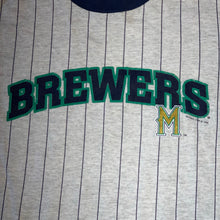 Load image into Gallery viewer, Youth L - Vintage 90s Milwaukee Brewers Shirt