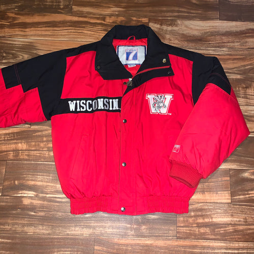 M/L - Vintage Wisconsin Badgers Logo 7 Jacket