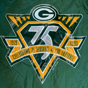 L - Vintage Green Bay Packers 75th Anniversary Jacket