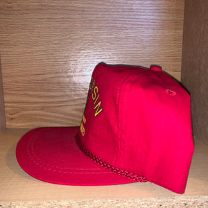 Vintage Wisconsin Seed Potatoes Strapback Hat