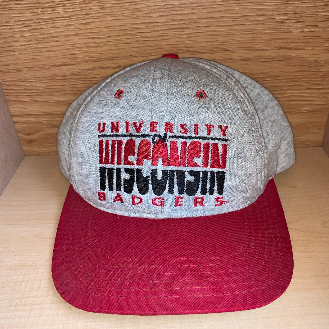 Vintage Wisconsin Badgers Soft Material Hat