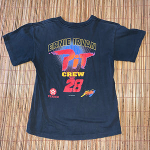 YOUTH XL(See Measurements) - Vintage 90s Ernie Irvan Racing Shirt