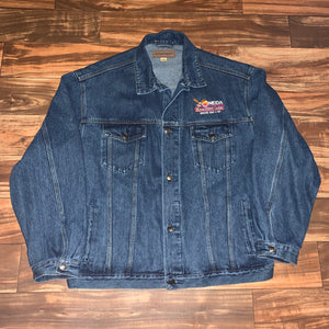 XL - Vintage Oneida Casino Bounty Tournament Denim Jacket