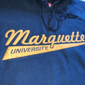 XXL/XXXL - Marquette Michigan University Reverse Weave Heavy Hoodie