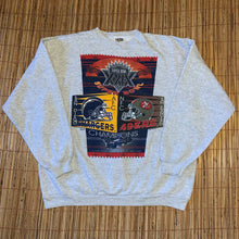 Load image into Gallery viewer, XL - Vintage 1994 Chargers 49ers Super Bowl XXIX Sweater