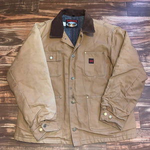XXL - Vintage Tough Duck Carhartt Style Blanket Lined Work Jacket
