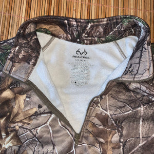 L - Realtree 1/4 Zip Fleece Sweater