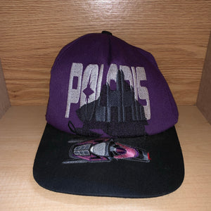 Vintage 1990s Polaris Snowmobile Hat